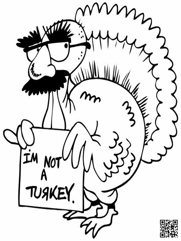 Thanksgiving Coloring Page I 39 m