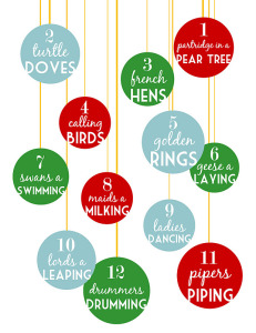 12 Days of Christmas Revised
