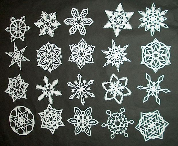 How to Make Paper Snowflakes 1