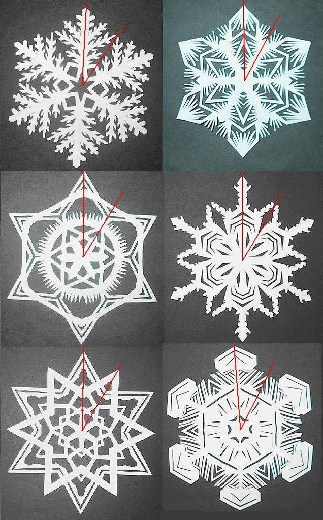 How to Make Paper Snowflakes Step 10-a