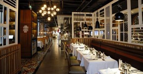Toronto Buffet Restuarant Inside