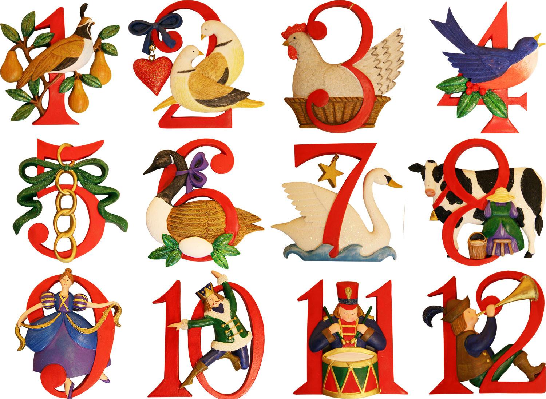On The 12 Days Of Christmas Lyrics.Twelve Days Of Christmas Lyrics Dialect Zone International
