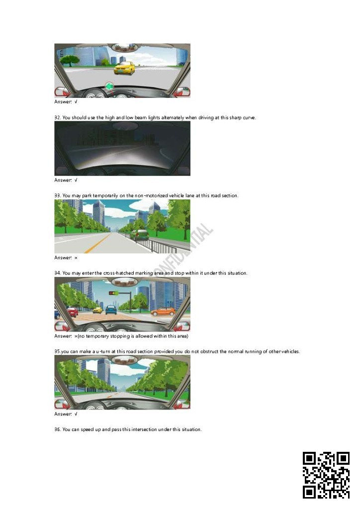 2014_Chinese_Driving_Theory_Test_Question_Bank_Page_021