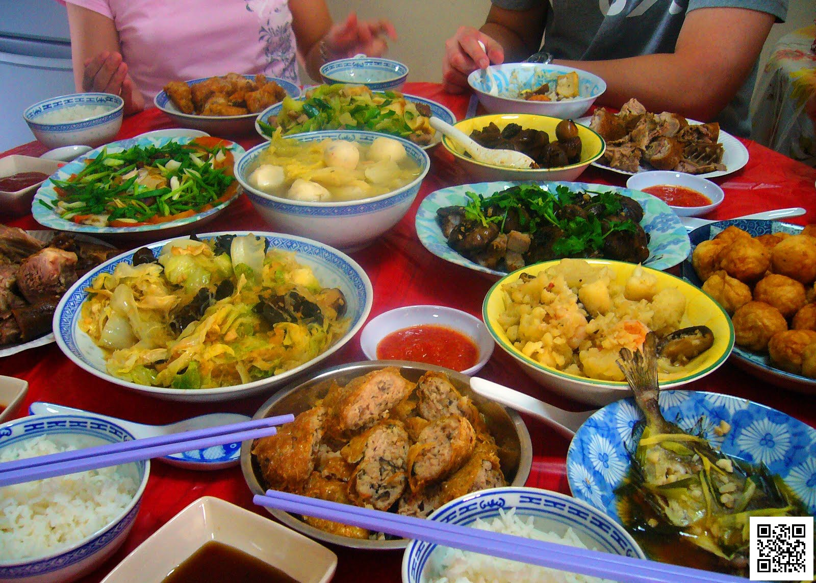 Malaysia Chinese New Year Traditional Food