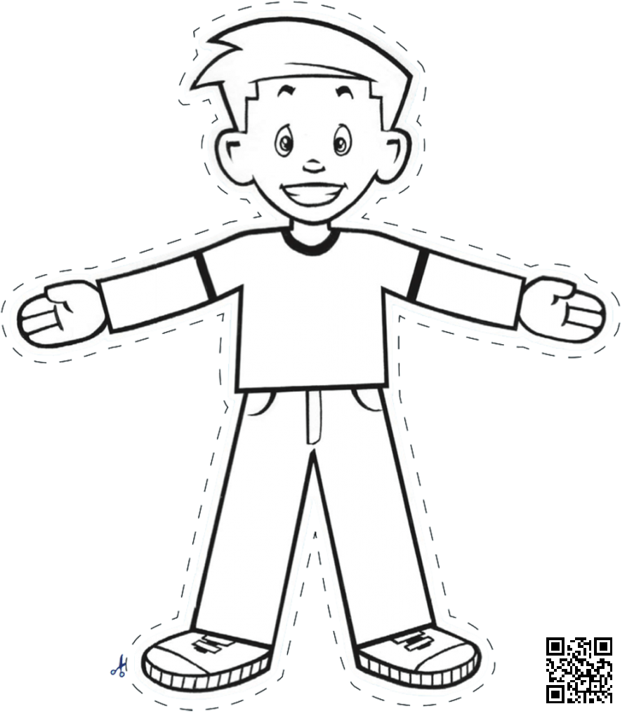 Flat stanley cut out dialect zone international for Free printable flat stanley template